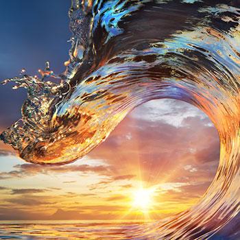 Dynamische Welle