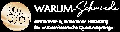 Logo sensual business für die WARUM-Schmiede